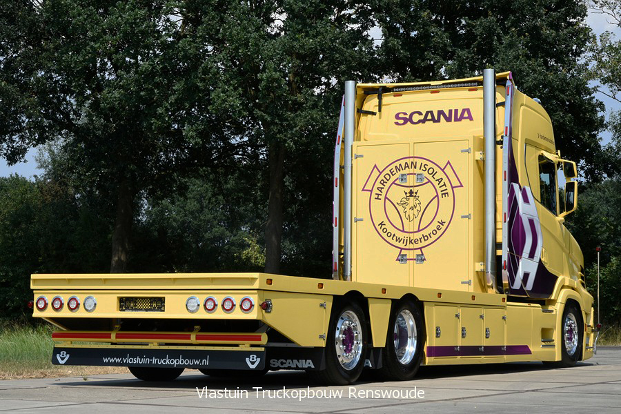 Aflevering Donderdag 26 Juli Vlastuin Truckopbouw